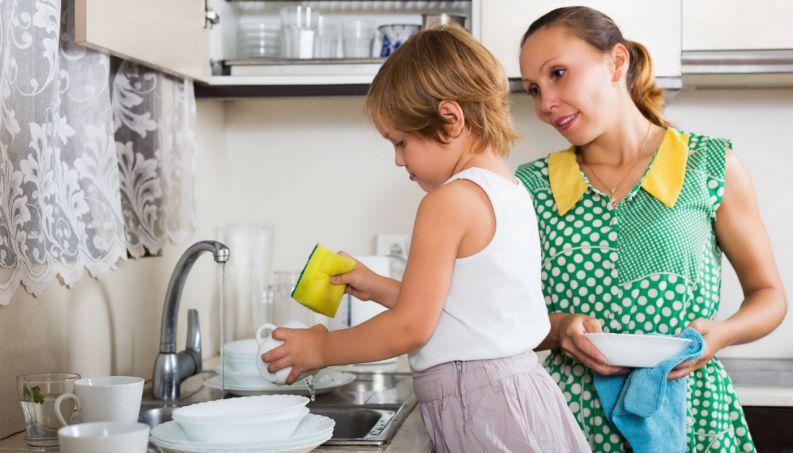 A criança deve ajudar nas tarefas domésticas?