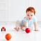 Brincadeiras que estimulam o bebê a engatinhar