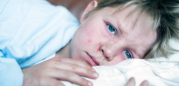 Primavera e a saúde das crianças